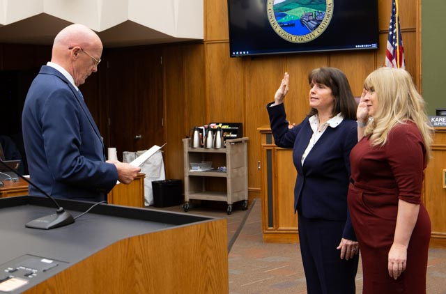 New Chair and Vice Chair Sworn in to Office