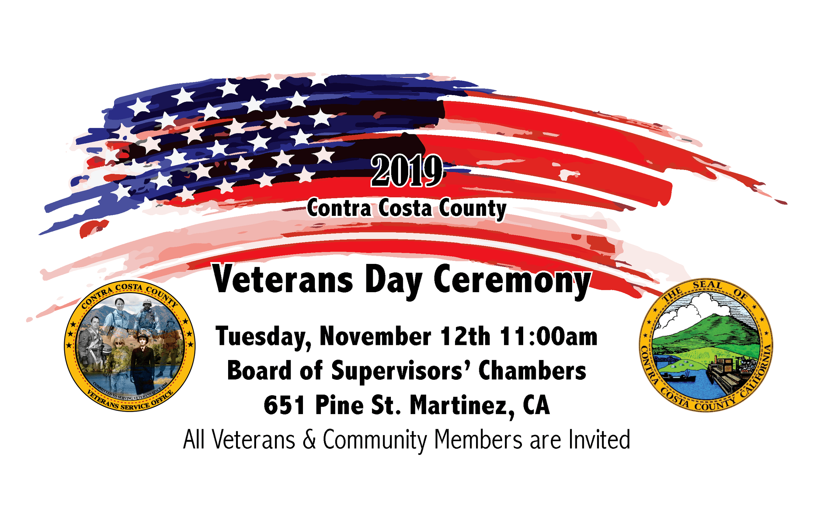 Veterans Day Save the date 2019