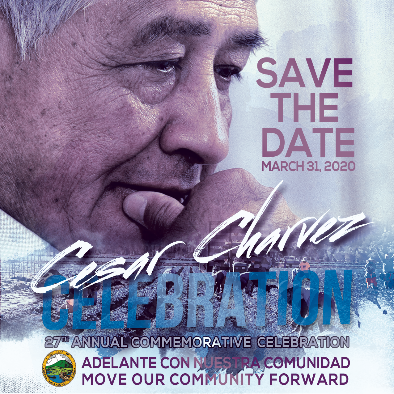Cesar Chavez Save the Date
