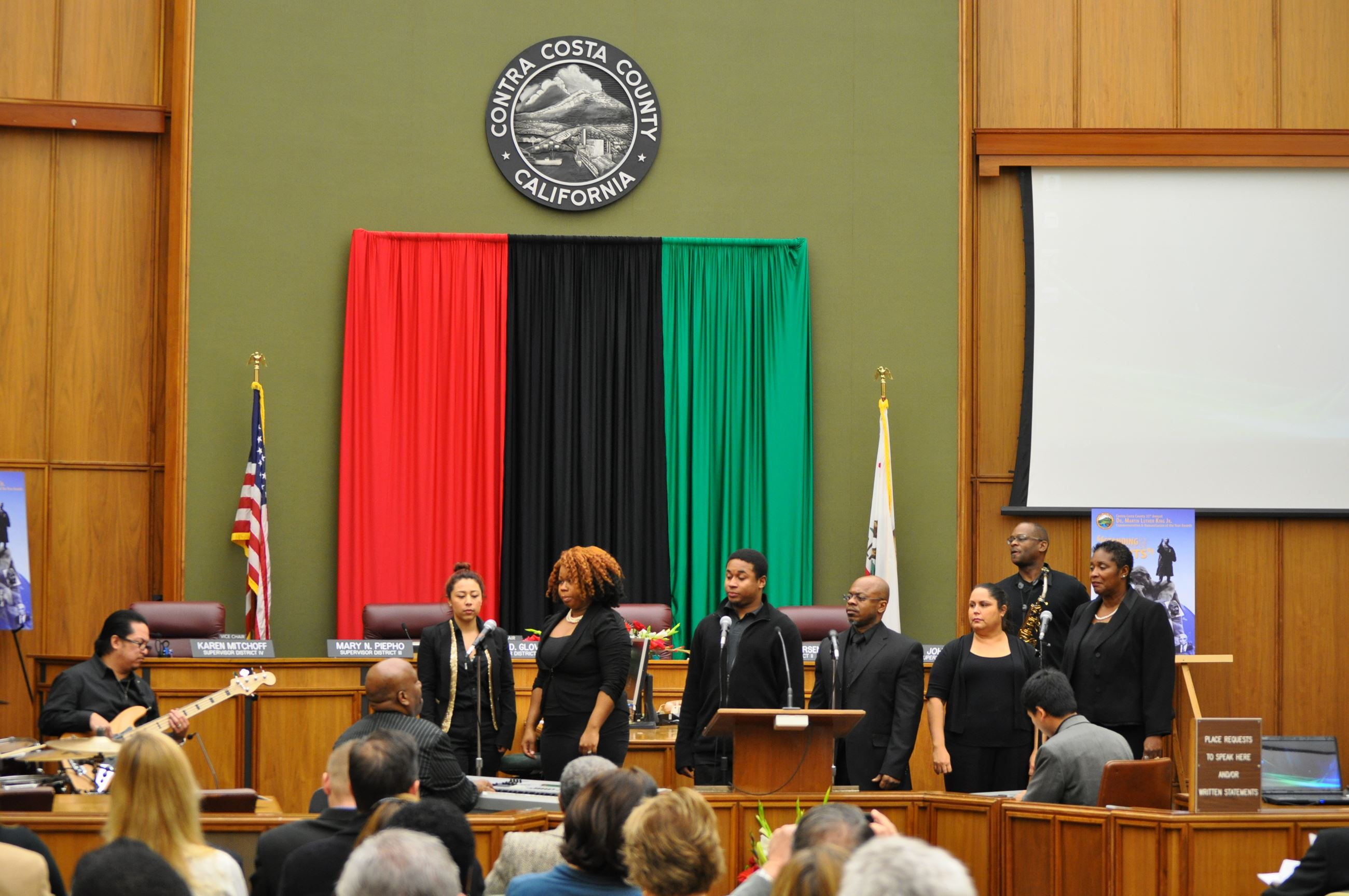 Dr. Martin Luther King. Jr, 2013 Ceremony